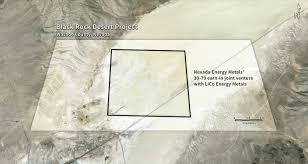 black rock desert map nevada energy metals acquires black rock lithium project nevada