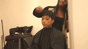 can you sew in extensions in a pixie hair cut honeyhand full head short weave no leave out youtube