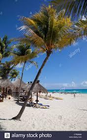 mexico quintana roo playa del carmen playacar beach scene