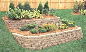 Garden Brick Wall Design Ideas Landscape Wall Ideas Retaining Wall Design Ideas For Creative