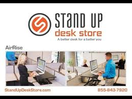 versa stand up desk airrise pro standing desk converter stand up desk store youtube