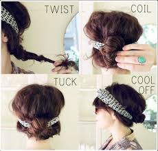 hair with headband 10 pretty headband hairstyle tutorials be modish