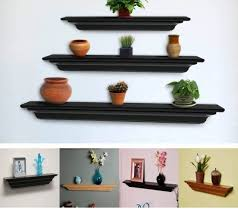 storage u0026 organization inspiring narrow floating wall shelf with