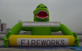 gorilla balloon china 6m gorilla for firework company advertisement