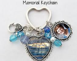 in memory of keychains in loving memory your loved one s photo on a