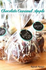 Caramel Apple Party Favors Chocolate Caramel Apple Recipe Refresh Restyle