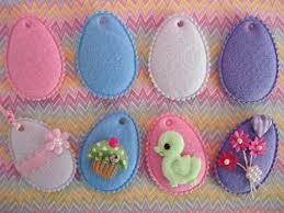 felt easter eggs embellishment world appliques seasonal st s day