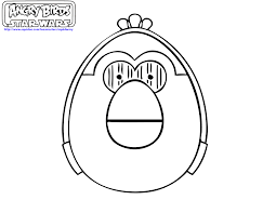 angry birds coloring pages star wars 2