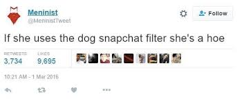 Meme Faces Meaning - thot or not how did the dog face become snapchat s hoe filter