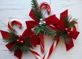 Homemade Christmas Decor Candy Cane Crafts 14 Homemade Christmas Ornaments And Candy Cane