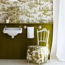 wallpaper ideas for bathrooms bathroom wallpapers ideal home
