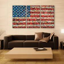 wall designs vintage american flag wall abstract