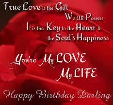 birthday card sayings love