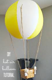 hot air balloon decorations diy decorative hot air balloons for 5 clutter