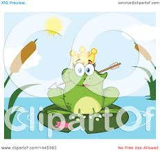 lily pad clipart speckled frog pencil and in color lily pad