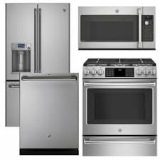ge kitchen appliance packages cafe1 ge cafe appliance 4 piece appliance package with gas