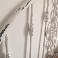 Paint A Headboard painting a metal headboard with old world paint metal beds
