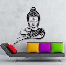 3d poster classic religion buddhism buddha meditation wall sticker