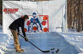 Backyard Hockey Rink Kit by Amazon Com Rave Ez Set Ice Rink 200 Sports U0026 Outdoors