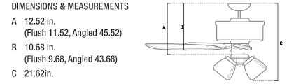 100 ceiling fans retractable blades retractable blade