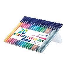 amazon com staedtler triplus color fiber tip pens 323sb20p
