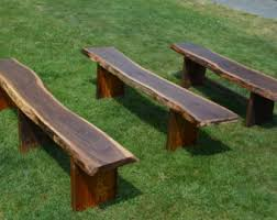 Outdoor Tables And Benches Patio Furniture Etsy