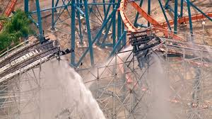 Six Flags Tennessee Fire Damages Colossus Roller Coaster At Magic Mountain Kabc7