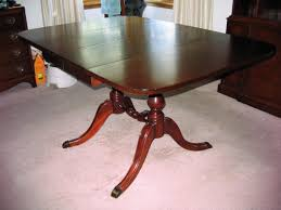 Drexel Dining Room Table New Travis Court Collection By Drexel Dining Table W 1 Leaf