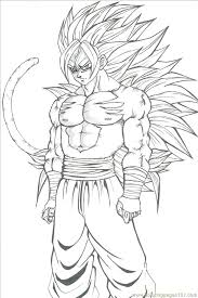 goku coloring pages download print free