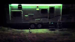 Led Awning Lights For Rv Rgb Led Light Travel Trailer Mod Youtube