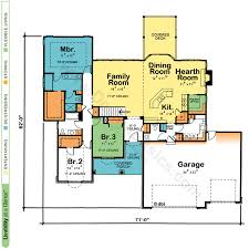 Dual Master Suite Home Plans by House Plans With Pocket Offices Design Basics