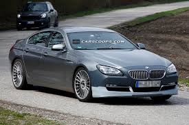 bmw germany spyshots alpina b6 gran coupe biturbo snapped in germany gtspirit