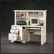 Sauder Corner Computer Desk With Hutch Sauder Harbor View Computer Desk In Antiqued White Beach Style