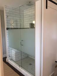 shower door spacer portland frameless shower doors glass enclosures custom shower