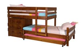 Loline Longwall Bunk Bed With Loline Chest And Trundle Bunk Beds - Height of bunk beds