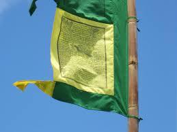 Prayer Flags Vertical Tibetan Prayer Flags High Quality Cotton With Green