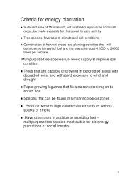 bioenergy briefs