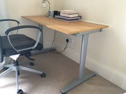 Height Adjustable Computer Desks by Ikea Galant Height Adjustable Desk In Edinburgh City Centre