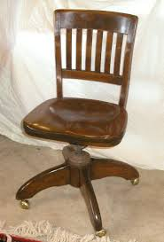 vintage wood desk desk chairs vintage wood swivel desk chair antique image