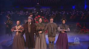 john rhys davies and mormon tabernacle choir a dickens