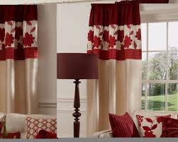 Checkered Curtains by Curtains White And Red Curtains Surprising Red And White