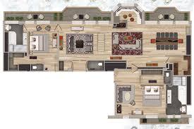 Cote D Azur Floor Plan by L U0027appartement Les Neiges Room And Suites Les Neiges