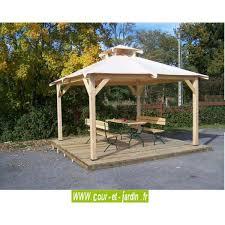 tonnelle de jardin en bois tonnelle de jardin tonnelle bois autoportante avec bache