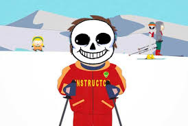 Bad Time Meme Generator - undertale sans south park ski instructor bad time blank template