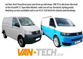 volkswagen old van transform your van from a t5 to a t5 1 sportline model van tech