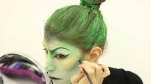 snake inspired makeup halloween 2014 youtube
