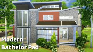 The Bachelor Mansion The Sims 4 House Building Modern Bachelor Youtube