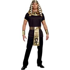 halloween costumes egyptian king of egypt men u0027s halloween costume medium walmart com