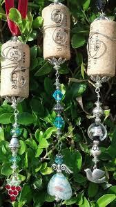 194 best wine cork ornaments images on wine cork