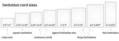 wedding invitations size astonishing average size of wedding invitation 14 with additional